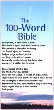 TBC: The 100-Word Bible